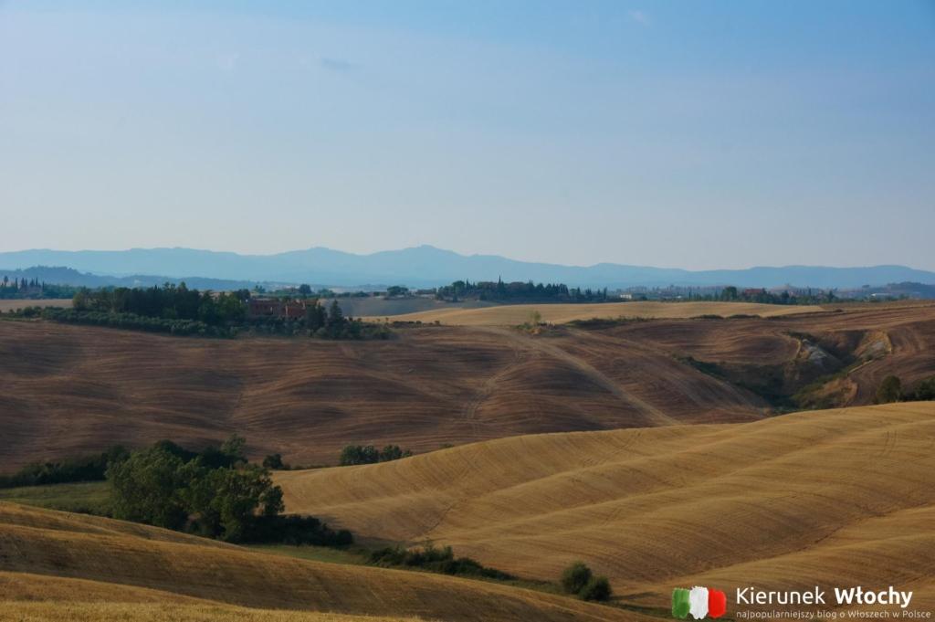 krajobraz Crete Senesi, Toskania, Włochy (fot. Łukasz Ropczyński, kierunekwlochy.pl)