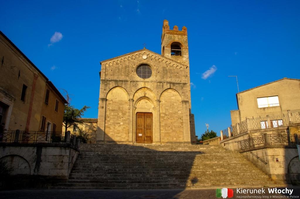 Basilica di Sant'Agata w Asciano, Włochy (fot. Łukasz Ropczyński, kierunekwlochy.pl)