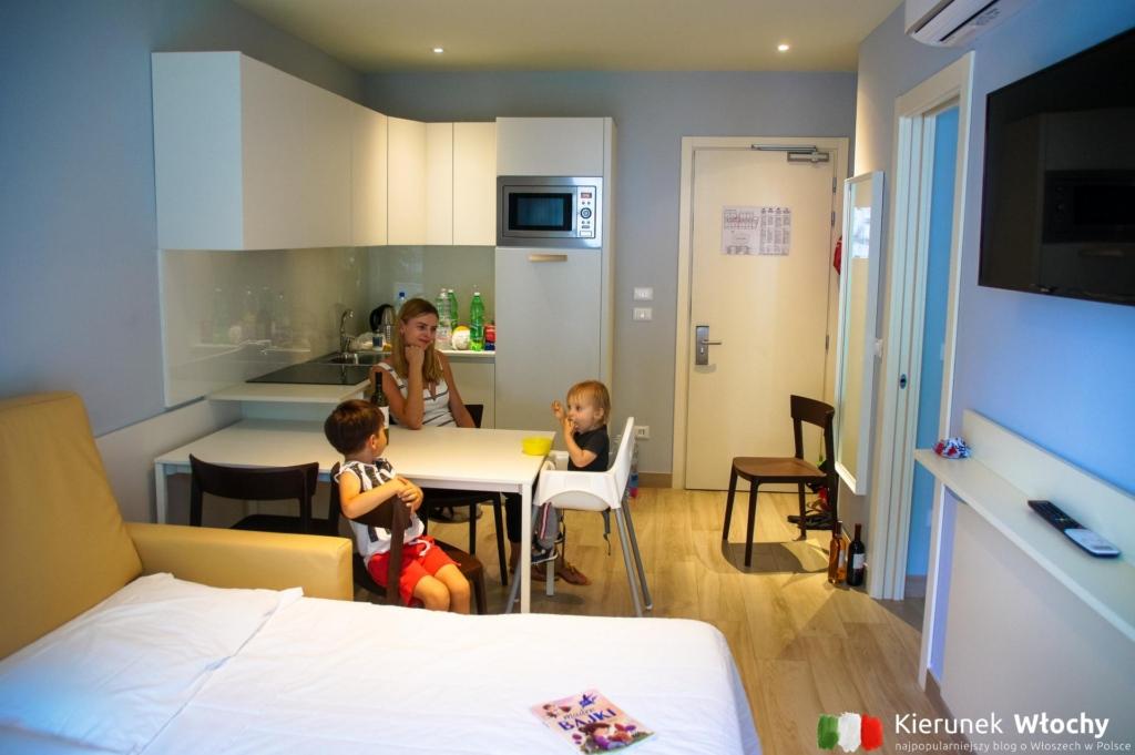 apartament IFK233 z Novasol, w którym zatrzymaliśmy się w Grado (fot. Łukasz Ropczyński, kierunekwlochy.pl)