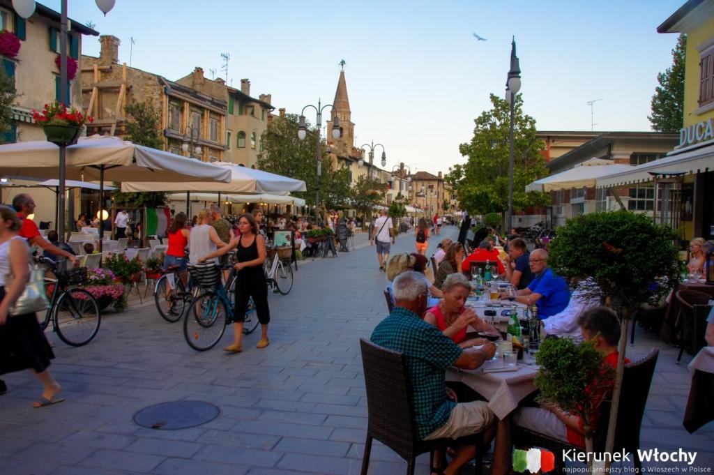 Piazza Duca D'Aosta, Grado, Włochy (fot. Łukasz Ropczyński, kierunekwlochy.pl)