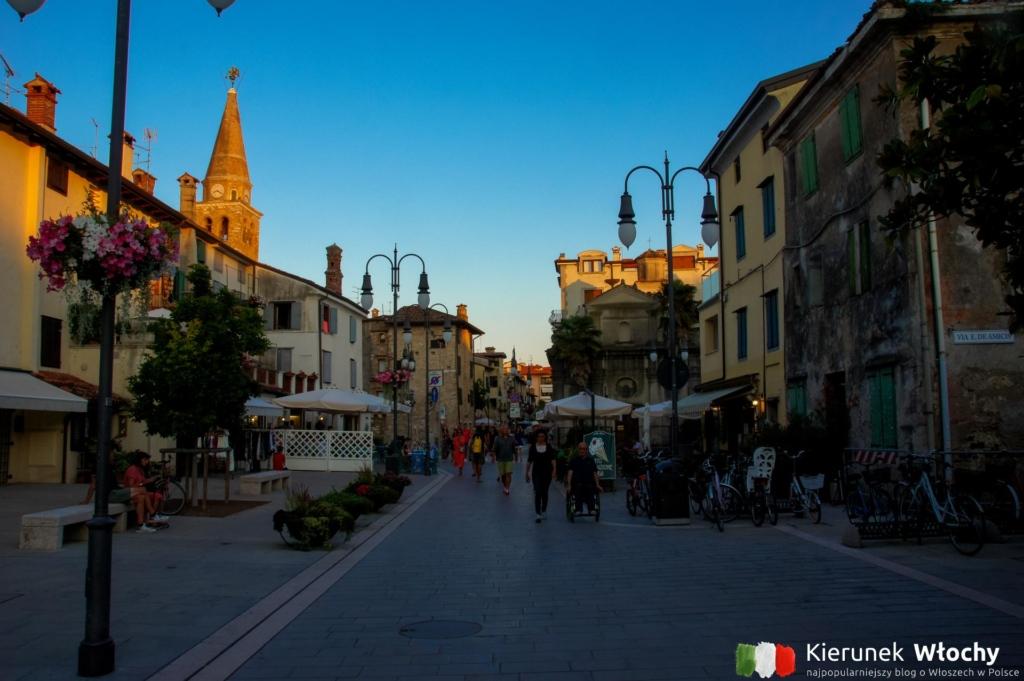 historyczne centrum Grado, Friuli Wenecja Julijska, Włochy (fot. Łukasz Ropczyński, kierunekwlochy.pl)