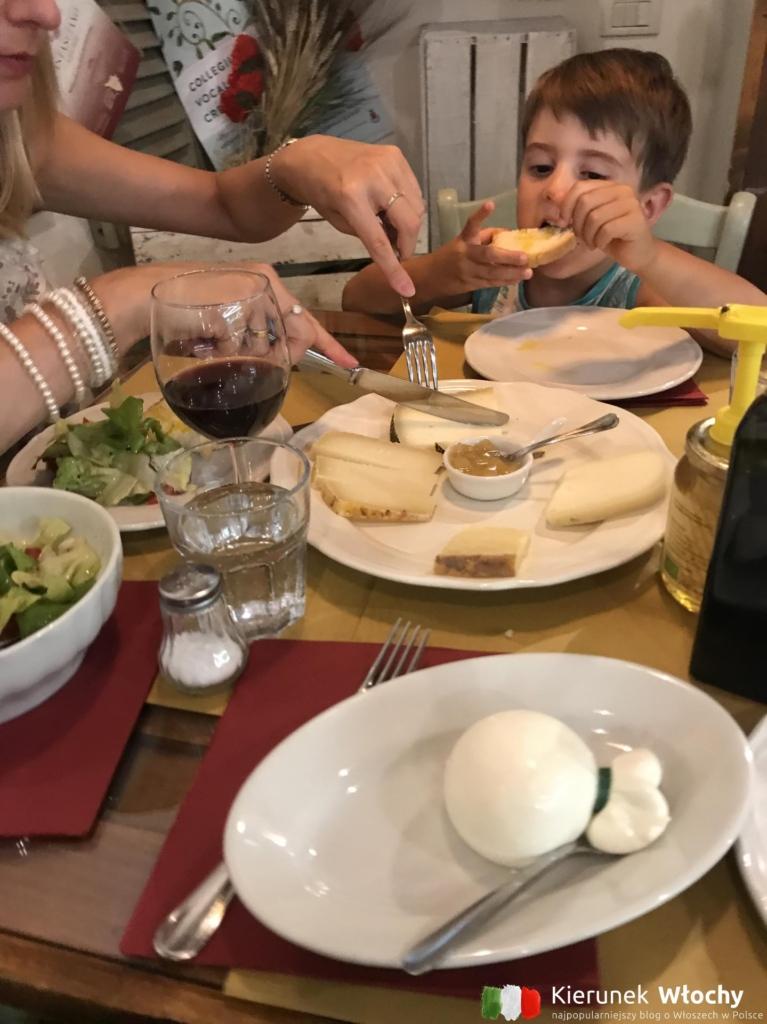 nasza wizyta w restauracji La Botteghina (fot. Ł. Ropczyński, kierunekwlochy.pl)