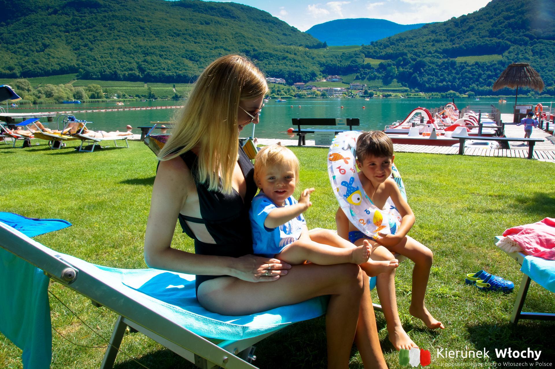 jezioro Kalterer See / Lago di Caldaro, Południowy Tyrol, Włochy (fot. Łukasz Ropczyński, kierunekwlochy.pl)