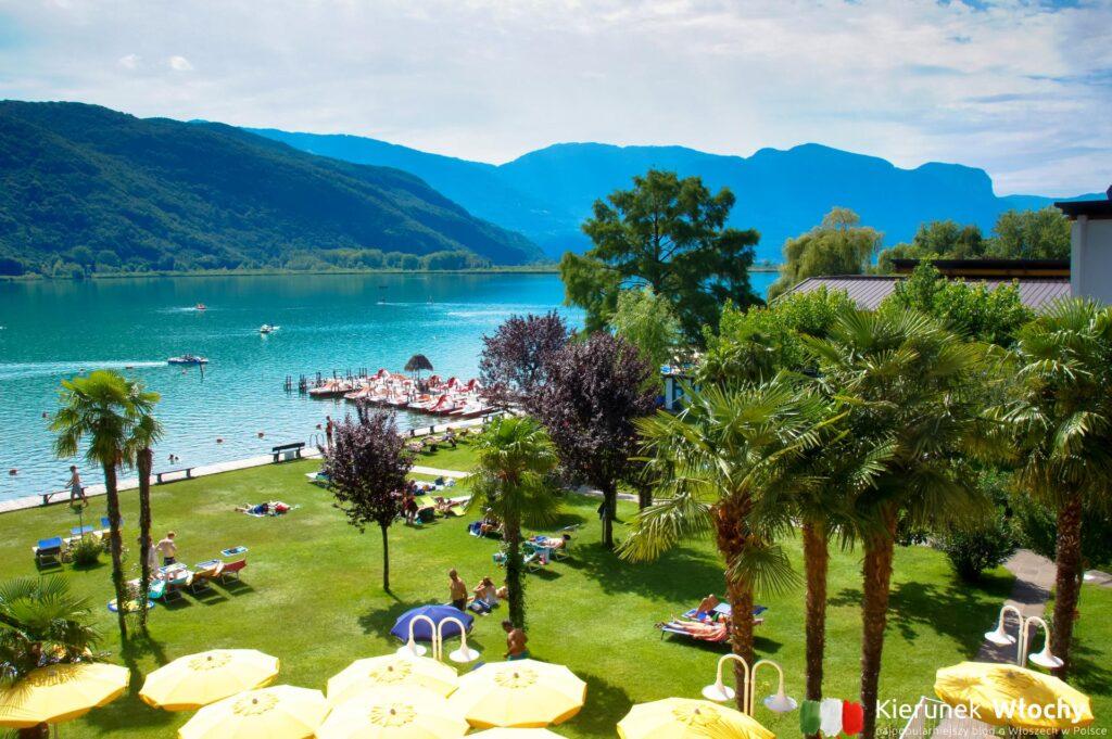 Kalterer See / Lago di Caldaro, Południowy Tyrol, Włochy (fot. Łukasz Ropczyński, kierunekwlochy.pl)