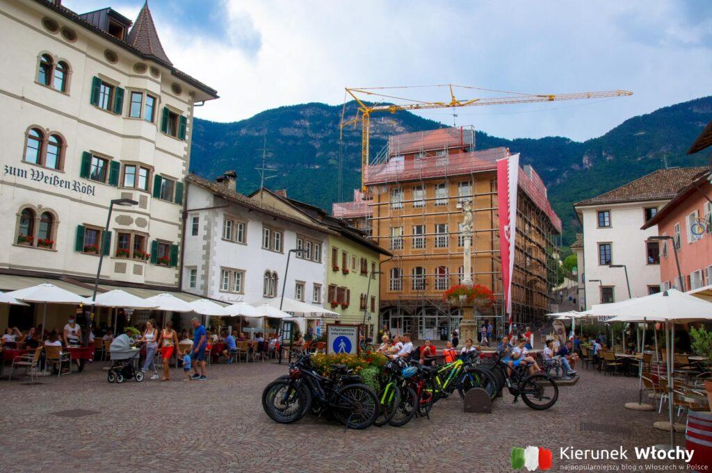 miasto Kaltern Am See / Caldaro sulla Strada del Vino, Południowy Tyrol, Włochy (fot. Łukasz Ropczyński, kierunekwlochy.pl)