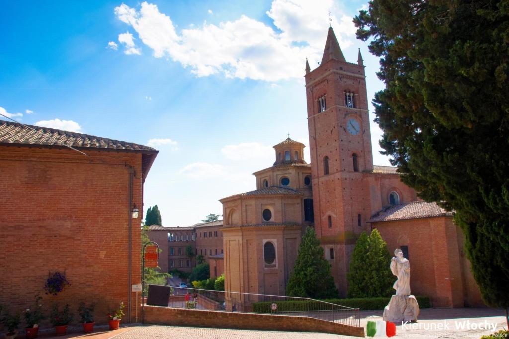 Opactwo Monte Oliveto Maggiore, Toskania (fot. Łukasz Ropczyński, kierunekwlochy.pl)