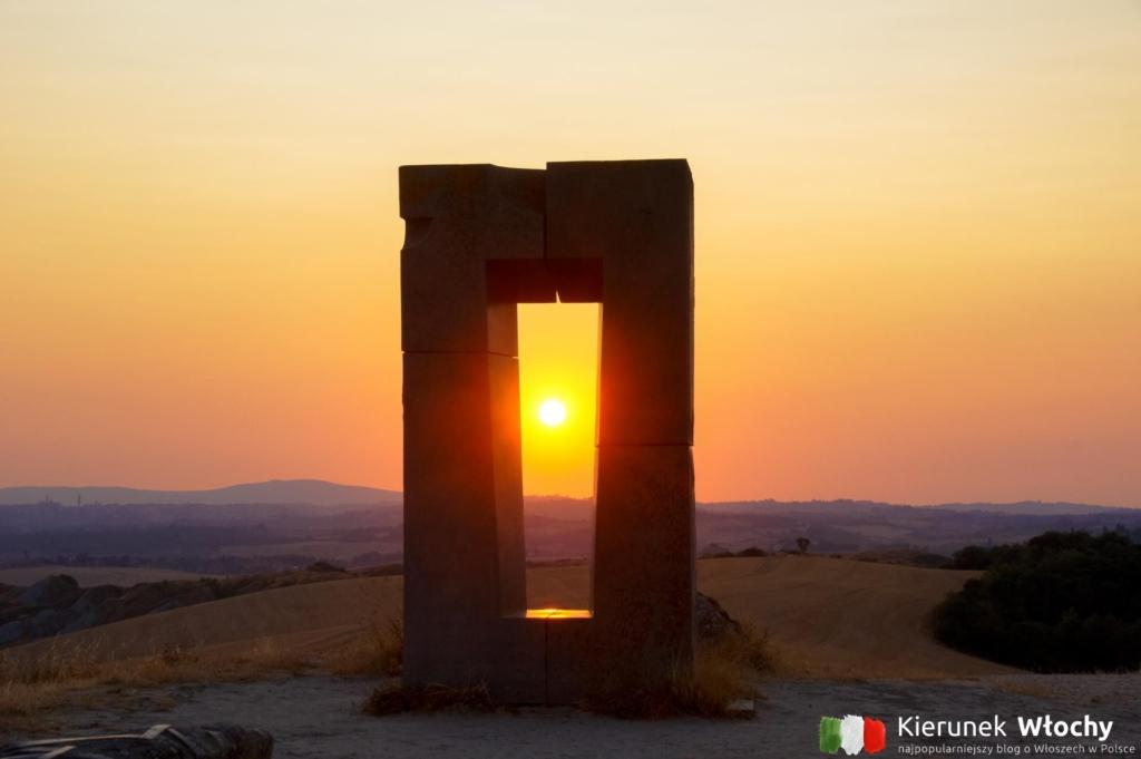 Monument Site Transitoire, Toskania, Włochy (fot. Ł. Ropczyński, kierunekwlochy.pl)