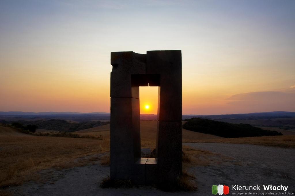 Monument Site Transitoire, Toskania, Włochy (fot. Łukasz Ropczyński, kierunekwlochy.pl)