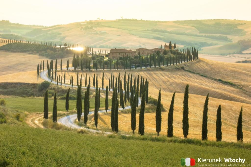 Agriturismo Baccoleno w pobliżu Asciano, Włochy (fot. Łukasz Ropczyński, kierunekwlochy.pl)