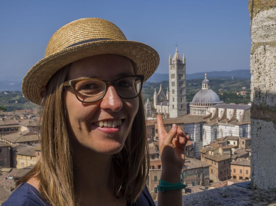 Agata Chrzanowska, licencjonowany przewodnik po Florencji