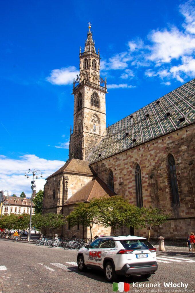 Duomo di Bolzano, Południowy Tyrol, Włochy (fot. Ł. Ropczyński, kierunekwlochy.pl)