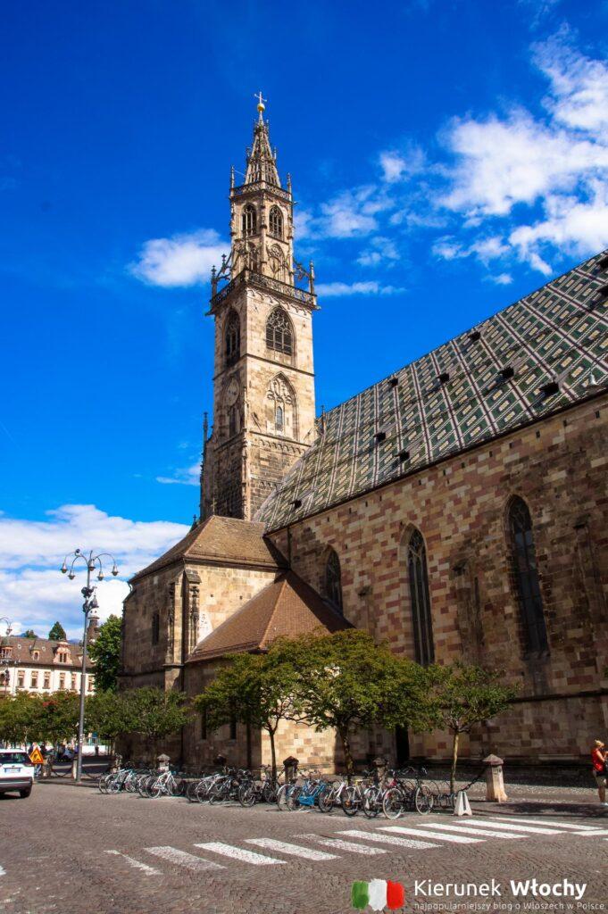 Duomo di Bolzano, Włochy (fot. Łukasz Ropczyński, kierunekwlochy.pl)