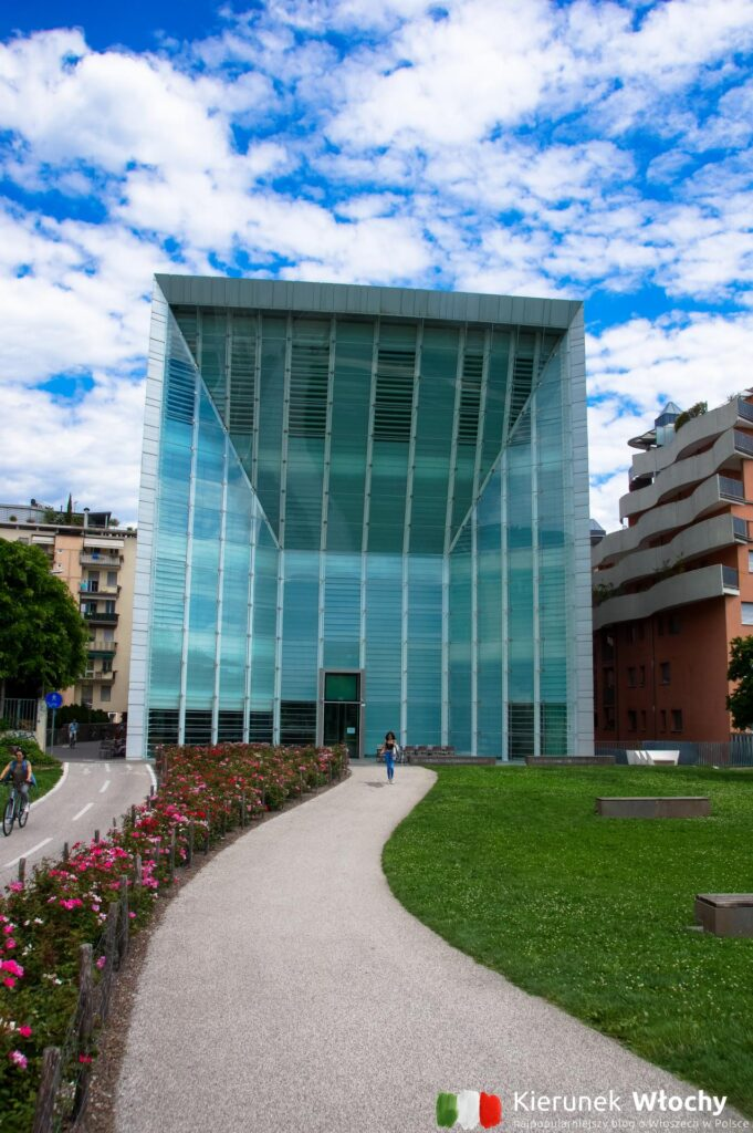 Stiftung Museion - muzeum sztuki współczesnej, Bolzano, Włochy (fot. Ł. Ropczyński, kierunekwlochy.pl)