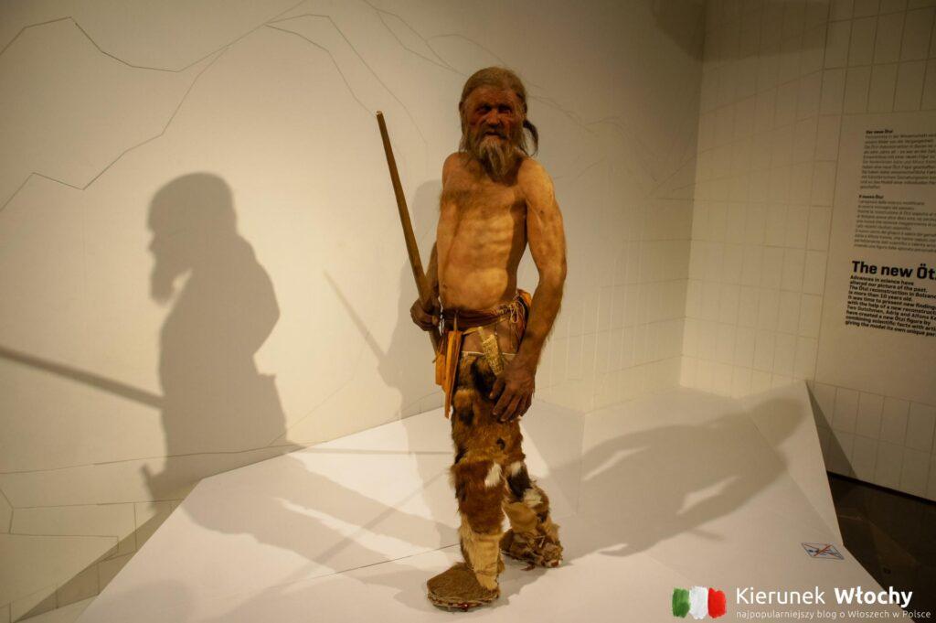 Ötzi, Muzeum Archeologiczne Południowego Tyrolu, Bolzano, Włochy (fot. Ł. Ropczyński, kierunekwlochy.pl)