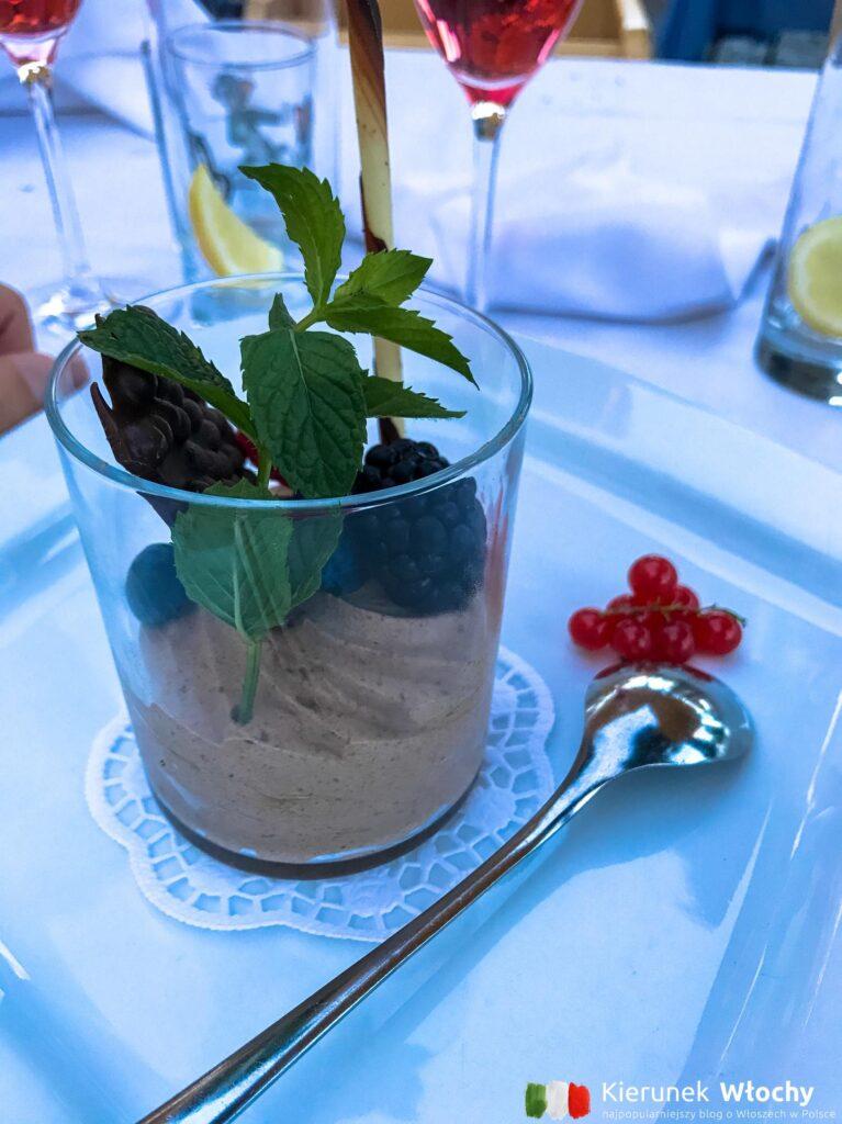 deser - mus czekoladowy (fot. Ł. Ropczyński, kierunekwlochy.pl)