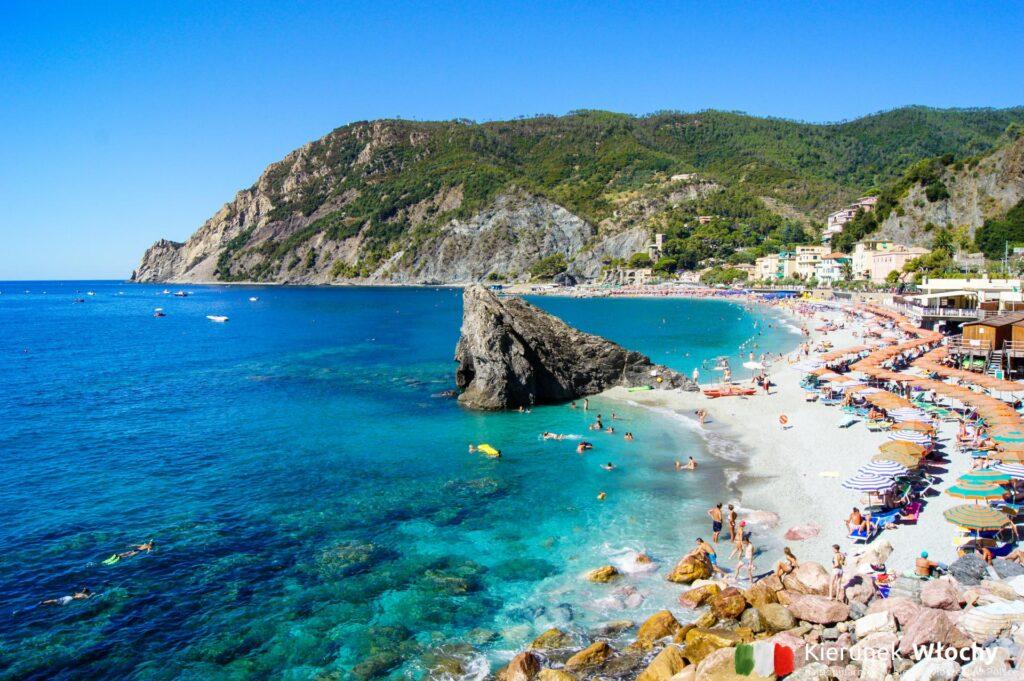 Monterosso al Mare, Cinque Terre, Liguria, Włochy (fot. Ł. Ropczyński, kierunekwlochy.pl)