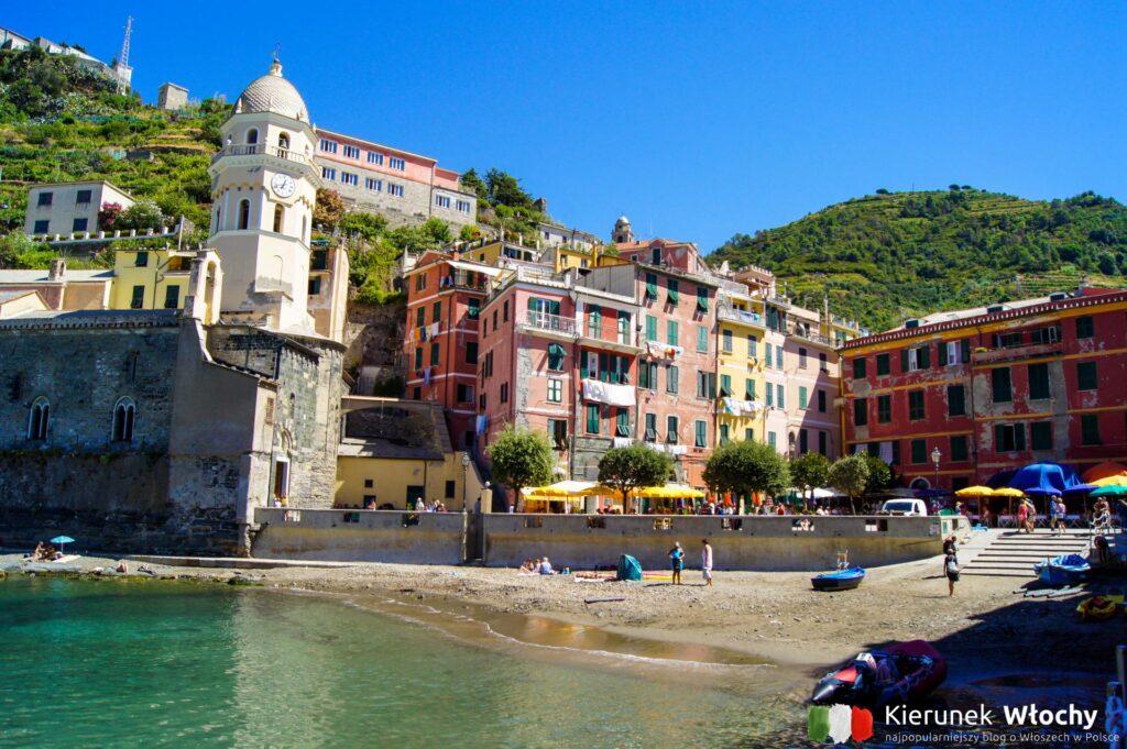 Vernazza, Cinque Terre, Liguria, Włochy (fot. Ł. Ropczyński, kierunekwlochy.pl)