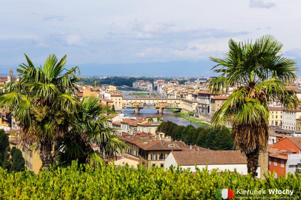 widok z Piazzale Michelangelo (fot. Ł. Ropczyński, kierunekwlochy.pl)