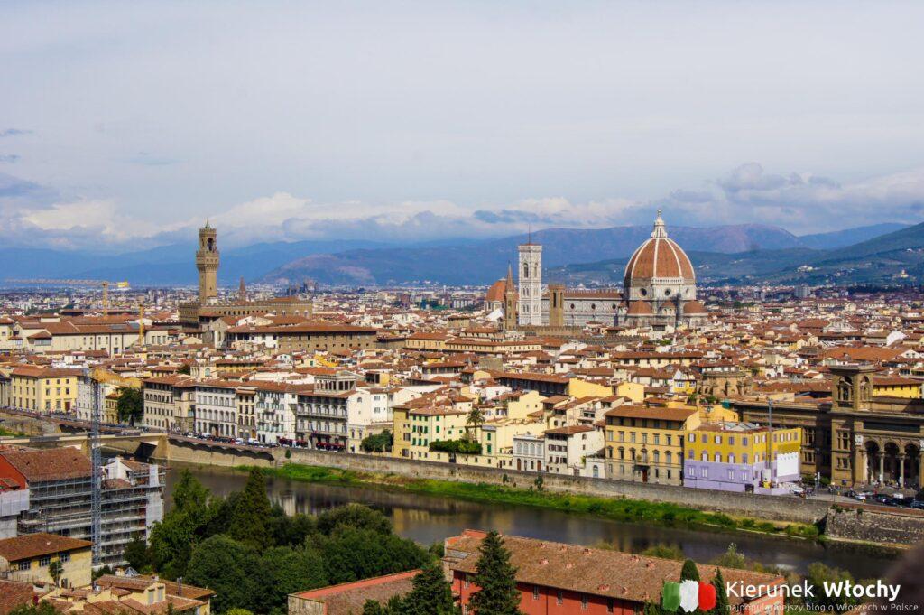 panorama Florencji, Toskania (fot. Ł. Ropczyński, kierunekwlochy.pl)