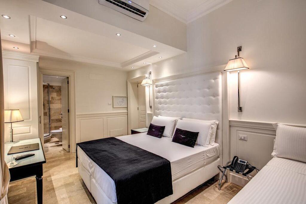 Rzym gdzie spać? Hotel dei Quiriti Suite w Rzymie