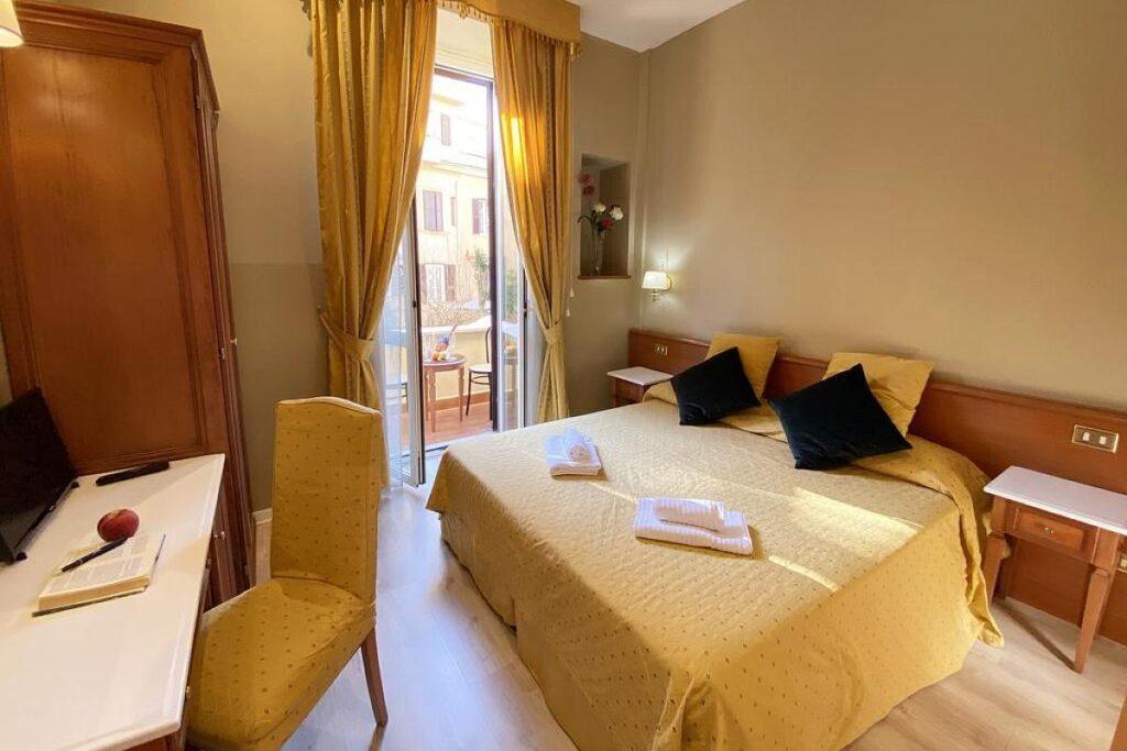 polecane i tanie noclegi w Rzymie, Hotel Pullman w pobliżu dworca Roma Termini