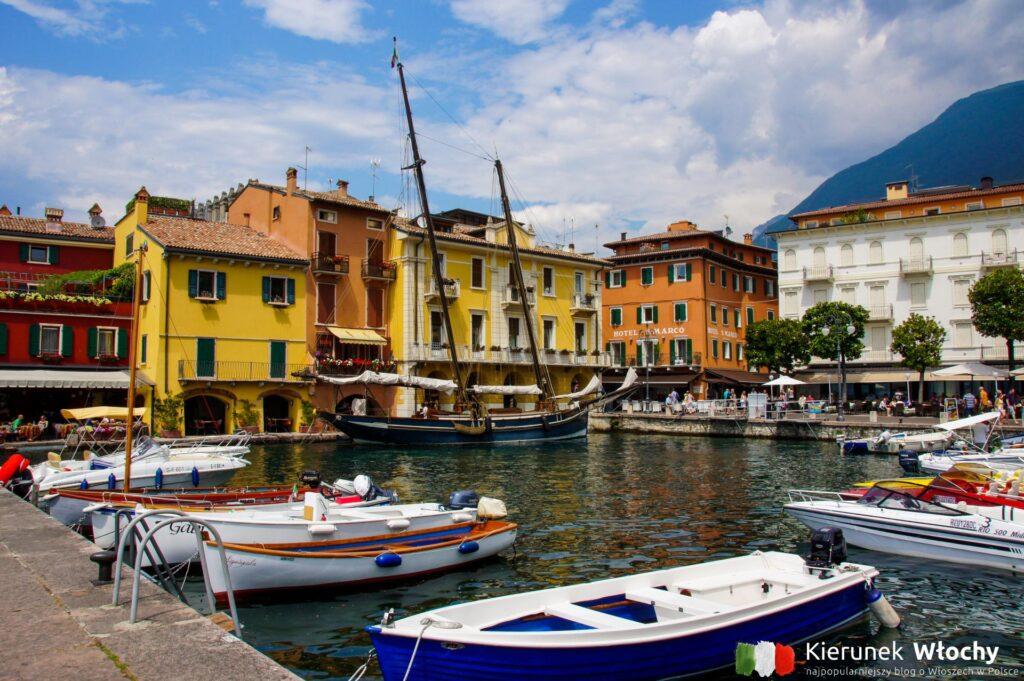 Malcesine, jezioro Garda, Włochy (fot. Ł. Ropczyński, kierunekwlochy.pl)