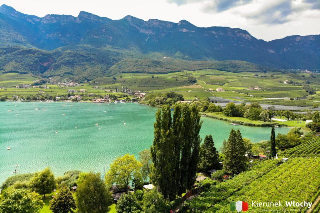 Kalterer See / Lago di Caldaro, Południowy Tyrol, Włochy (fot. Ł. Ropczyński, kierunekwlochy.pl)