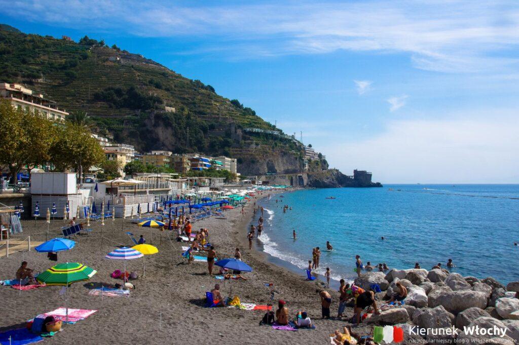 Maiori, Wybrzeże Amalfi, Włochy (fot. Łukasz Ropczyński, kierunekwlochy.pl)