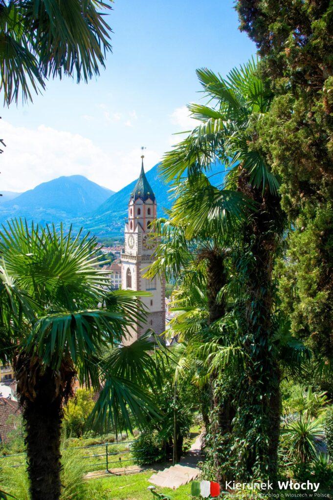 widok na Merano z Promenady Tappeiner, Południowy Tyrol, Włochy (fot. Ł. Ropczyński, kierunekwlochy.pl)