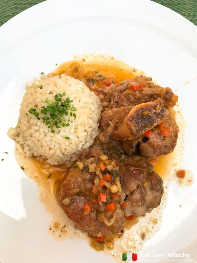 Tutejsza kuchnia przypadła mi do gustu (fot. Ł. Ropczyński, kierunekwlochy.pl)