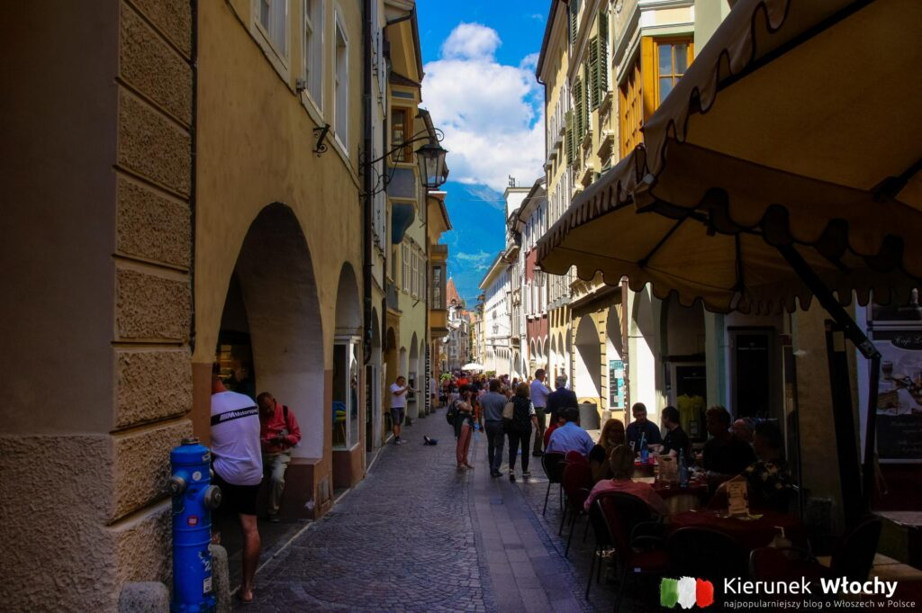 Via Portici, Merano, Południowy Tyrol, Włochy (fot. Ł. Ropczyński, kierunekwlochy.pl)