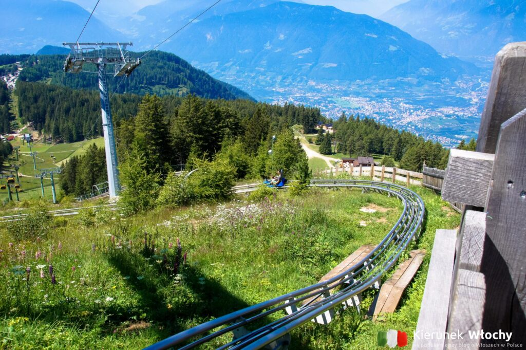 tor Alpinbob na Merano 2000, Południowy Tyrol, Włochy (fot. Ł. Ropczyński, kierunekwlochy.pl)