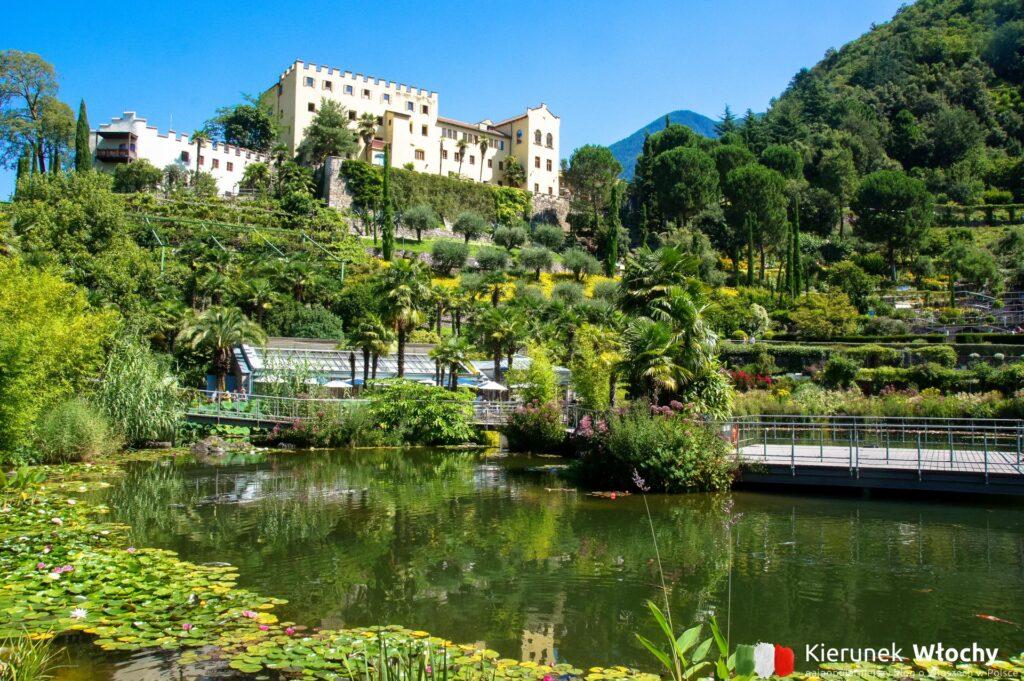 Zamek i ogrody Trauttmansdorff w Meran, Południowy Tyrol, Włochy (fot. Ł. Ropczyński, kierunekwlochy.pl)