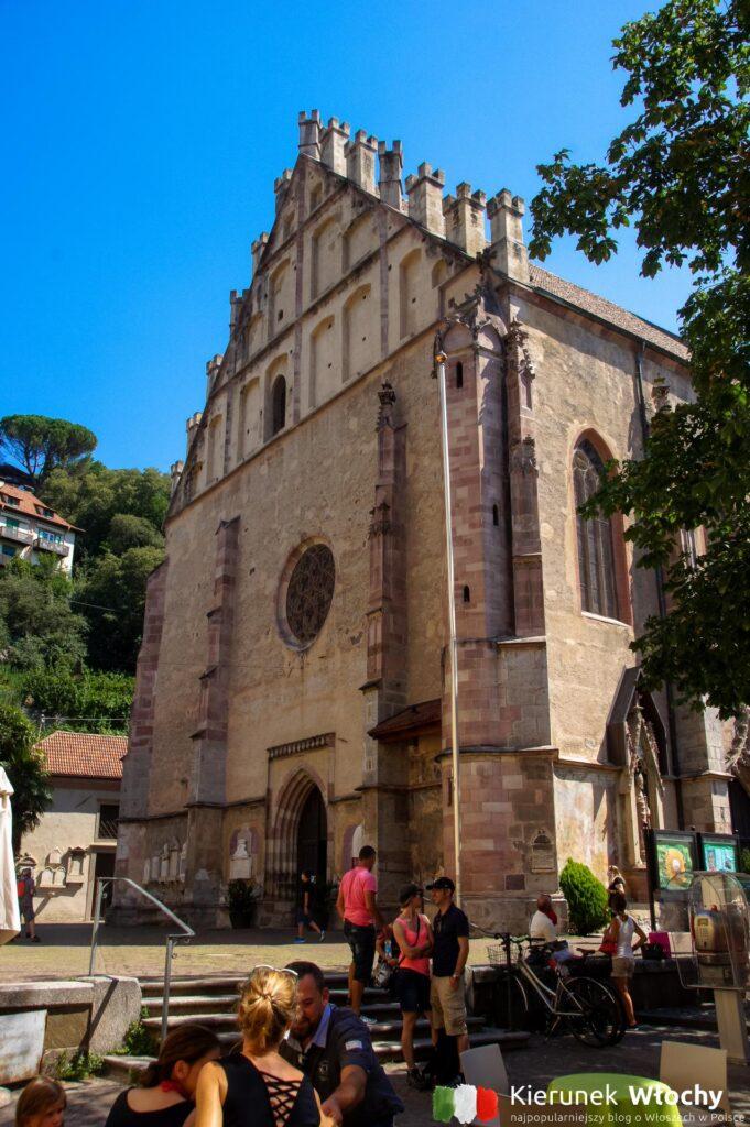 kościół św. Mikołaja w Merano, Południowy Tyrol, Włochy (fot. Ł. Ropczyński, kierunekwlochy.pl)