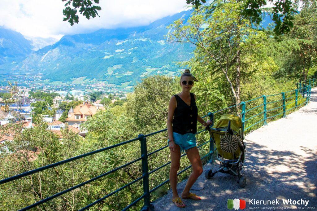 Promenada Tappeiner, Merano, Południowy Tyrol, Włochy (fot. Ł. Ropczyński, kierunekwlochy.pl)