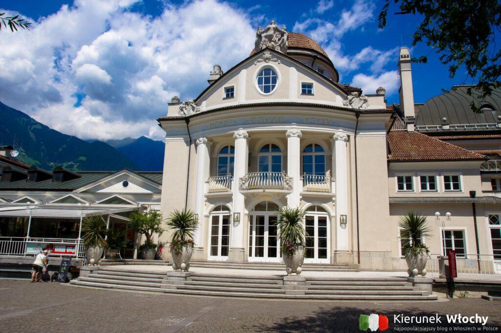 dom zdrojowy Kurhaus w Meran, Południowy Tyrol, Włochy (fot. Ł. Ropczyński, kierunekwlochy.pl)