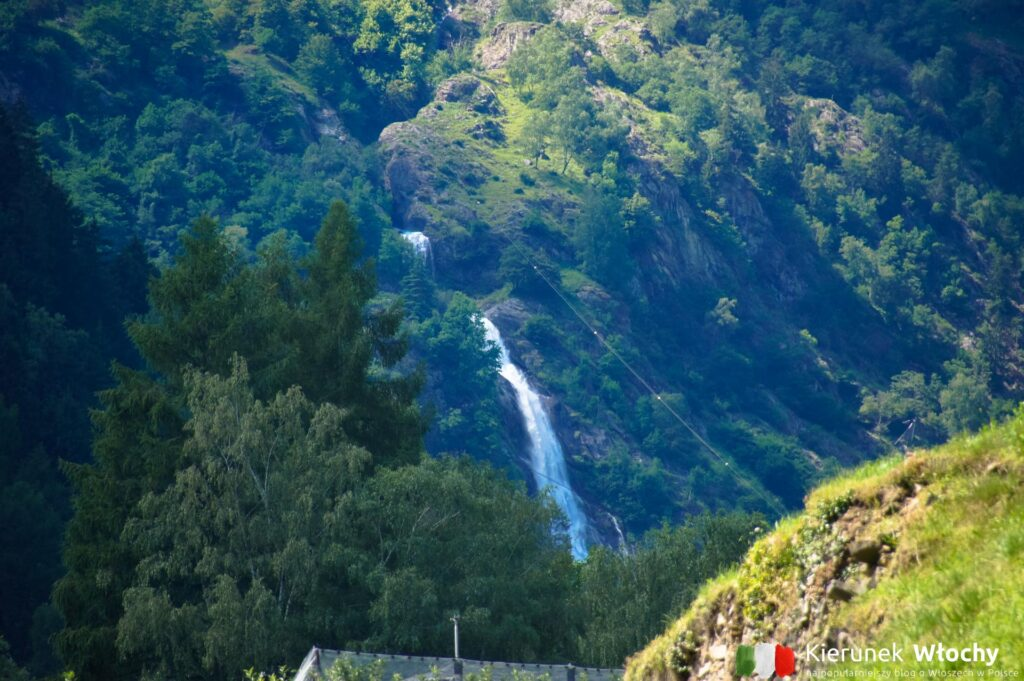 Wodospad Partschinser w okolicy Merano, Południowy Tyrol, Włochy (fot. Ł. Ropczyński, kierunekwlochy.pl)