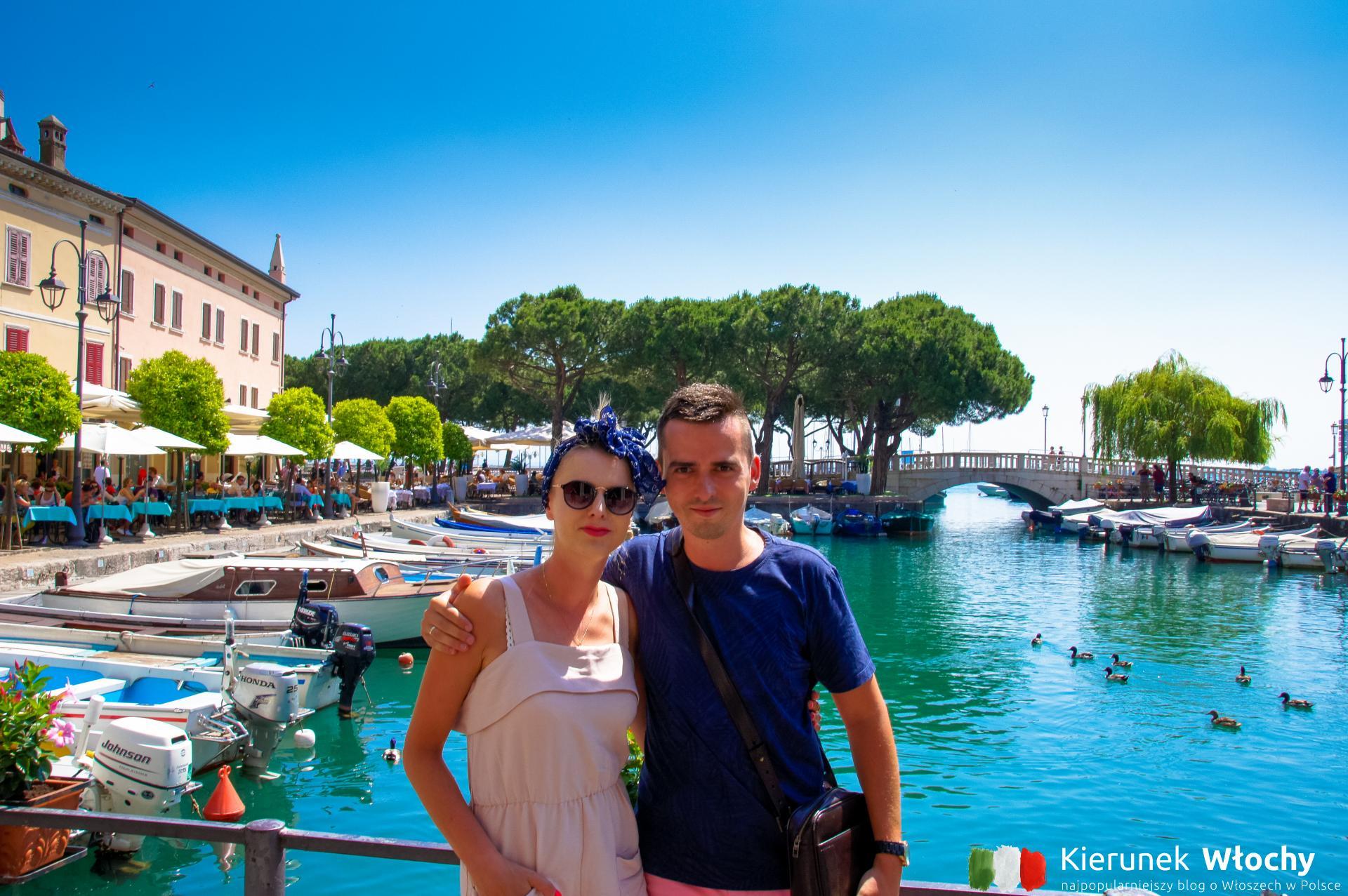 Łukasz Ropczyński - autor bloga Kierunek Włochy - z żoną Joanną