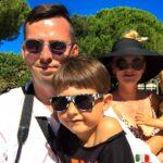 Nasza gromadka :) Natan ma już 6 lat i uwielbia Włochy, a Milan ma 18 miesięcy. Pierwsze 3 miesiące swojego życia w połowie spędził w trakcie naszych włoskich podróży