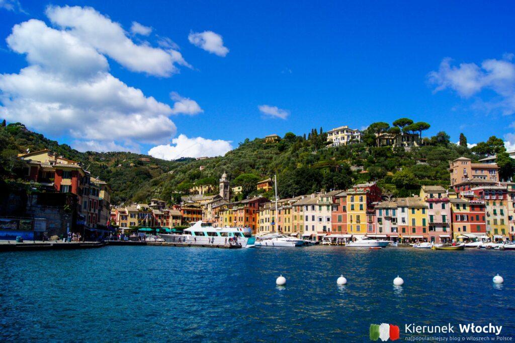 Portofino, włoskie wybrzeże, Liguria, Włochy (fot. Łukasz Ropczyński, kierunekwlochy.pl)