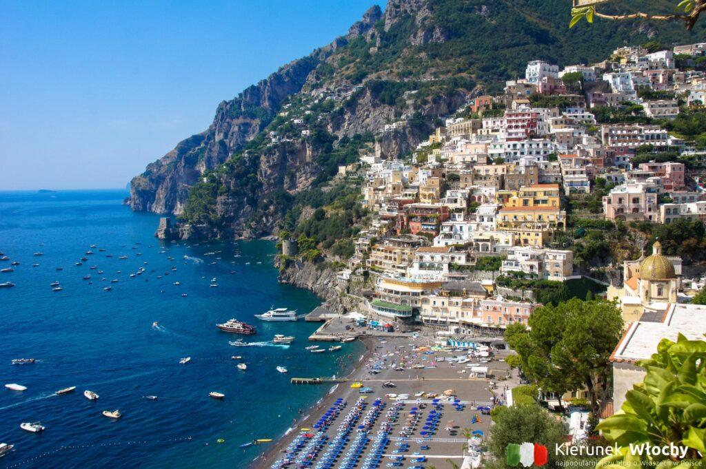 Positano, Wybrzeże Amalfi, Włochy (fot. Łukasz Ropczyński, kierunekwlochy.pl)