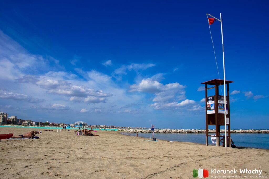 Rimini, włoskie wybrzeże Adriatyku (fot. Ł. Ropczyński, kierunekwlochy.pl)