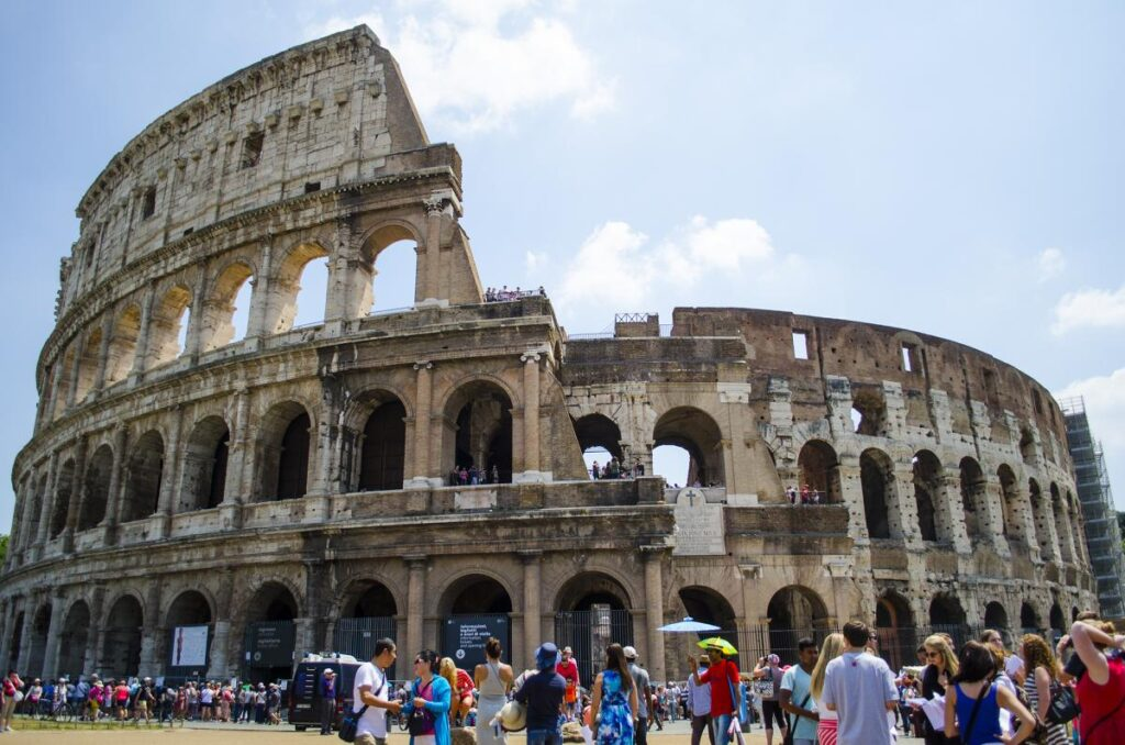 Koloseum, Rzym, Włochy (fot. Jeremy Nelson)