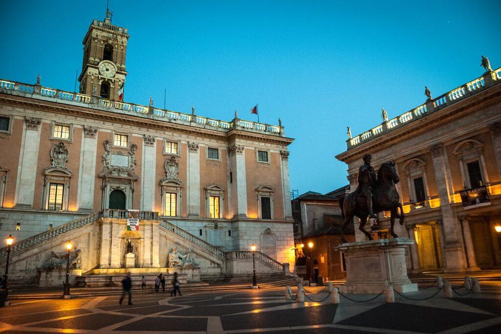 Kapitol / Campidoglio, Rzym, Włochy (fot. Stijn Nieuwendijk)