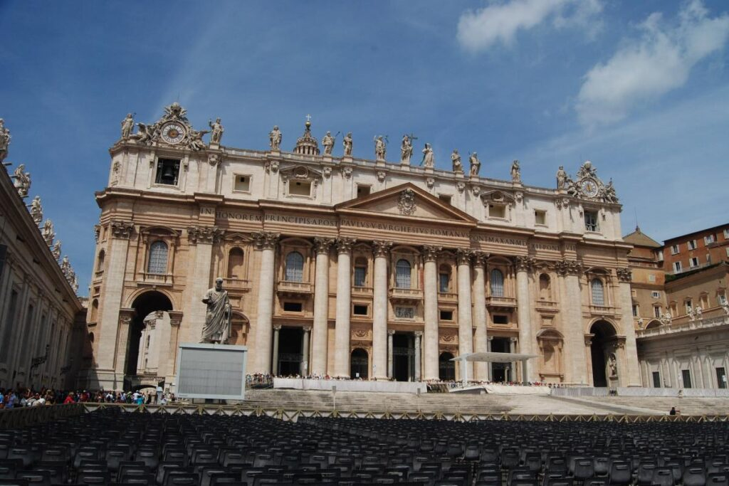 Bazylika św. Piotra, Watykan, Włochy (fot. Ana Rey)