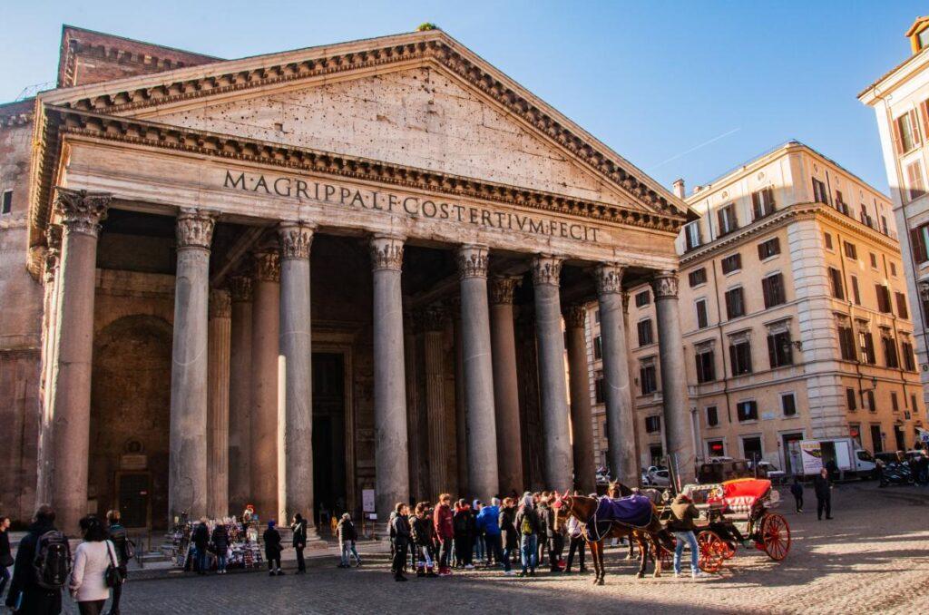 Panteon, Rzym, Włochy (fot. Sarah Nichols)