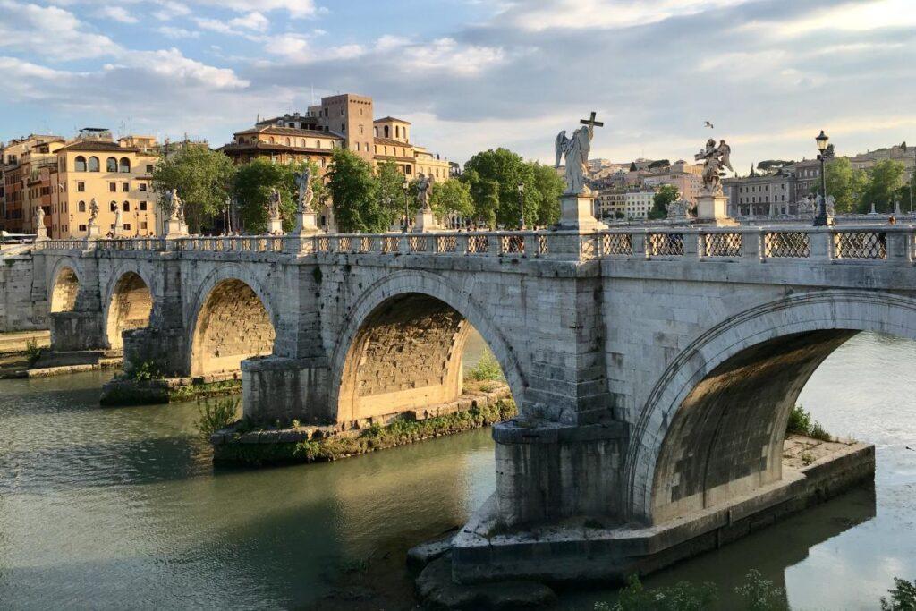 Most św. Anioła, Rzym, Włochy (fot. d1mka vetrov)