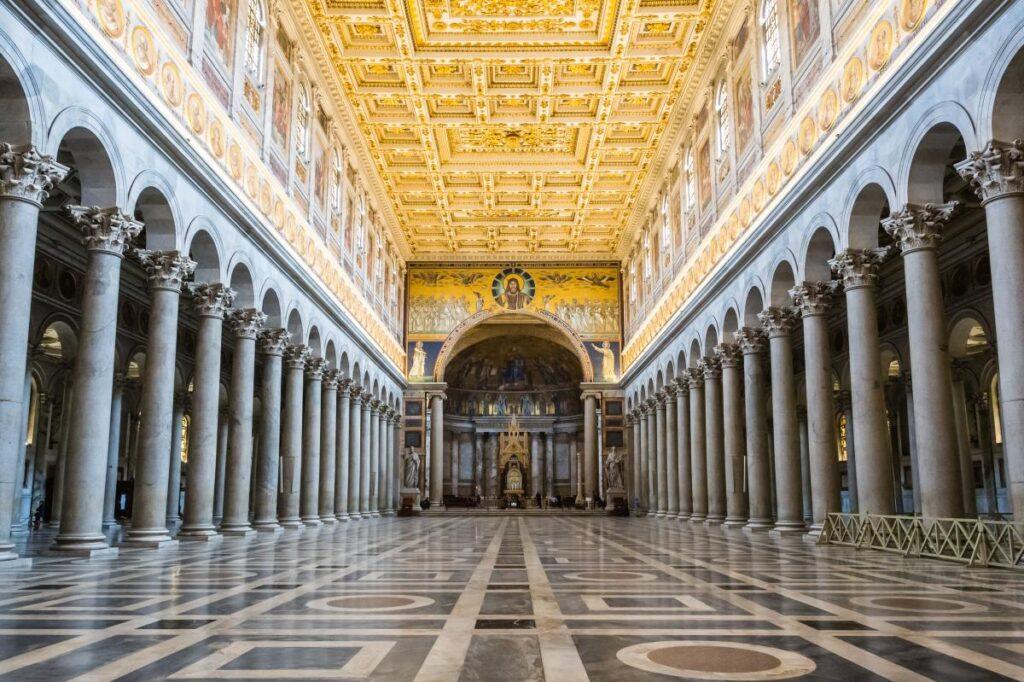 Bazylika św. Pawła za Murami, Rzym, Włochy (fot. ctj71081)