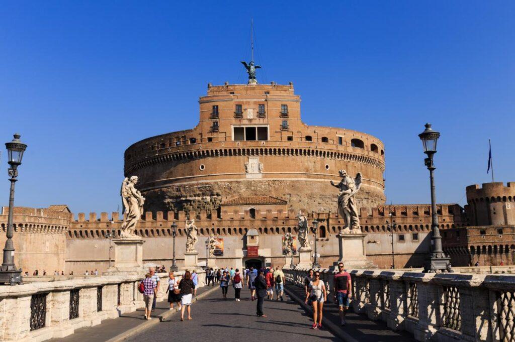 Zamek Świętego Anioła w Rzymie (fot. Greg_Men)