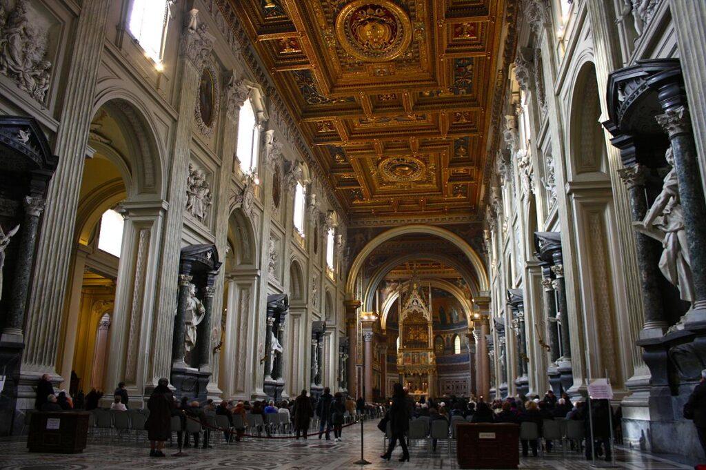 Bazylika św. Jana na Lateranie, Rzym, Włochy (fot. Trevor Huxham)